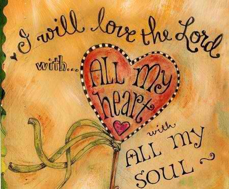 Heart love for God&Jesus TUE 11 SEP 2012